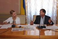Представники профспілок зустрілися з лідером «Батьківщини» Юлією Тимошенко