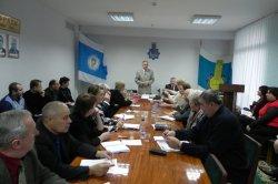 Засідання ради  Київської обласної організації Профспілки
