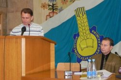 Перше засідання Ради профспілок Київщини