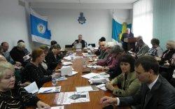 Засідання ради обласної організації Профспілки