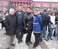 Студенти України провели попереджувальну акцію протесту!