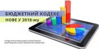 Зміни до Бюджетного кодексу: основні нововведення 2018 року