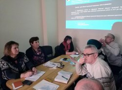 Засідання президії обласної організації Профспілки працівників освіти і науки України