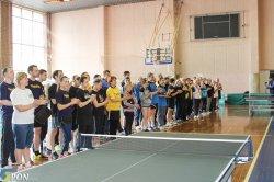 Стартували змагання з настільного тенісу