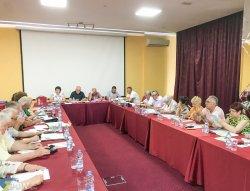 Виїзне засідання президії ЦК Профспілки