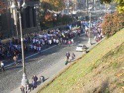 Всеукраїнська акція протесту Профспілок