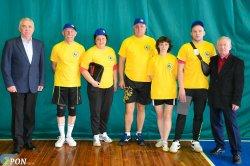 Стартували Всеукраїнські змагання з настільного тенісу серед освітян