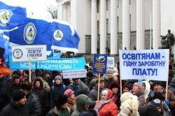 Профспілки вийдуть на акцію протесту